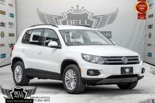 Used 2016 Volkswagen Tiguan Special Edition, AWD, BACK-UP CAM, SENSORS, PUSH START, BLUETOOTH for sale in Toronto, ON