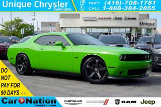 Used 2017 Dodge Challenger R/T| SHAKER| HARMAN KARDON| NAV| SUNROOF for sale in Burlington, ON