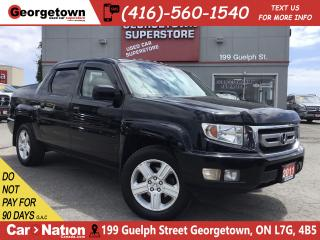 Used 2011 Honda Ridgeline EX-L w/NAVI |4X4|LEATHER| ROOF|BU CAM|HTD SEAT for sale in Georgetown, ON