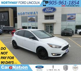 Used 2016 Ford Focus SE | KEYLESS ENTRY | BACKUP CAM | BLACK PKG | for sale in Brantford, ON