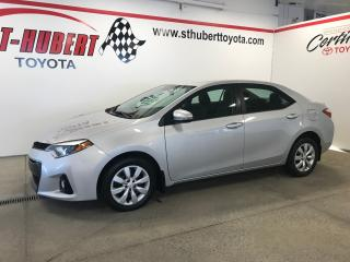 Used 2014 Toyota Corolla S, Bancs Ch for sale in St-Hubert, QC