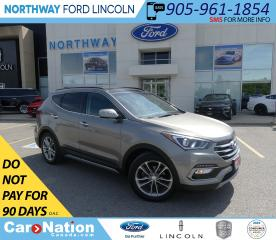 Used 2017 Hyundai Santa Fe Sport Limited | AWD | NAV | HTD LEATHER | PANO ROOF | for sale in Brantford, ON