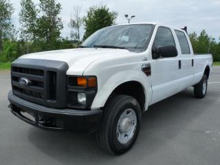 Used 2008 Ford F-350 XL CREW,  DIESEL, BTE 8 P, 4X4, A/C for sale in Vallée-Jonction, QC