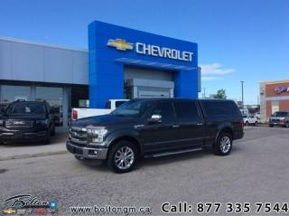 Used 2016 Ford F-150 Lariat  - Leather Seats -  Heated Seats - $296.33 B/W for sale in Bolton, ON