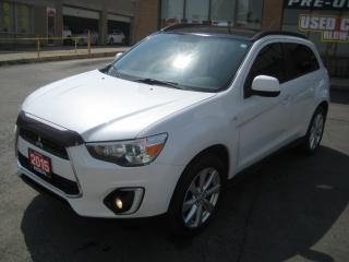 Used 2015 Mitsubishi RVR LEATHER/NAVIGATION/AWD/SUNROOF/ONE OWNER/SERVICE for sale in North York, ON