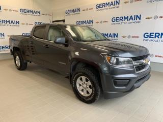 Used 2016 Chevrolet Colorado WT 4X4 -CREW CAB -V6 3.6L for sale in St-Raymond, QC