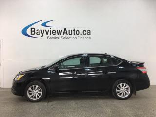 Used 2015 Nissan Sentra 1.8 SV - AUTO! HTD SEATS! A/C! CRUISE! FULL PWR GROUP! 28,000KMS! for sale in Belleville, ON