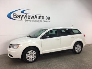 Used 2016 Dodge Journey CVP/SE Plus - 16,000KMS! FULL PWR GROUP! SUPER CLEAN! GREAT FUEL ECONOMY! for sale in Belleville, ON