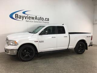 Used 2018 RAM 1500 SLT - OUTDOORSMAN! ECODIESEL! 8 SPD AUTO! 4X4! BIG SCREEN! BOARDS! for sale in Belleville, ON