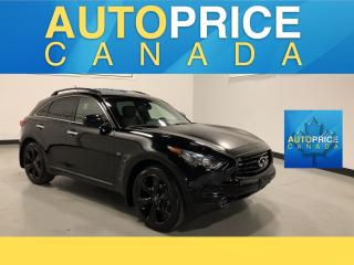 Used 2015 Infiniti QX70 Sport SPORT PKG|NAVIGATION|MOONROOF for sale in Mississauga, ON
