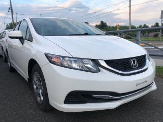 Used 2015 Honda Civic LX 4 portes, boîte automatique for sale in Drummondville, QC