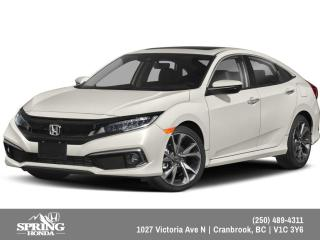New 2019 Honda Civic Touring $183 BI-WEEKLY - $0 DOWN for sale in Cranbrook, BC