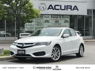 Used 2016 Acura ILX Premium Backup Cam, Remote Start, Bluetooth for sale in Markham, ON
