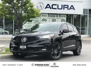 Used 2019 Acura RDX A-Spec at SH-AWD, Navi, Pano Roof, CarPlay for sale in Markham, ON