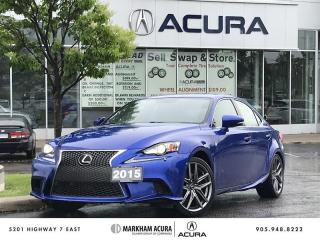 Used 2015 Lexus IS 250 AWD 6A F Sport Series 3, Winter Tires, Mark Levinson Audio for sale in Markham, ON