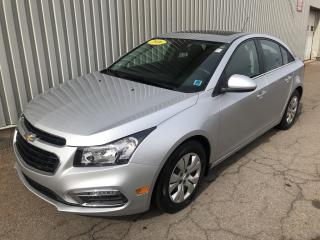Used 2016 Chevrolet Cruze Limited 1LT LOW KMs | SUNROOF | AC | BACKUP CAMERA for sale in Charlottetown, PE