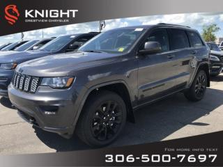 New 2019 Jeep Grand Cherokee Altitude V6 | Leather | Sunroof | Navigation for sale in Regina, SK