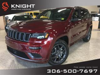 New 2019 Jeep Grand Cherokee Limited X V6 | Sunroof | Navigation for sale in Regina, SK