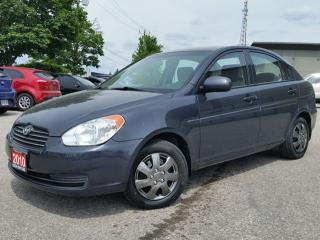 Used 2010 Hyundai Accent L for sale in Cambridge, ON