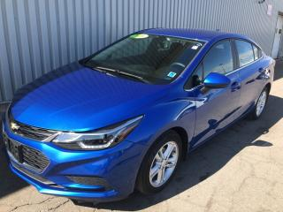 Used 2016 Chevrolet Cruze LT Auto LOW KMs | GREAT FUEL ECONOMY | BACKUP CAMERA | AC | PUSH BUTTON START! for sale in Charlottetown, PE