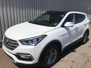 Used 2018 Hyundai Santa Fe Sport FACTORY WARRANTY | ALL WHEEL DRIVE | ALLOYS | AC + POWER OPTIONS for sale in Charlottetown, PE