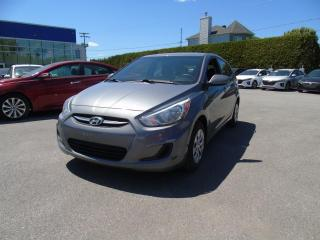 Used 2015 Hyundai Accent Voiture à hayon, 5 portes, boîte manuell for sale in Joliette, QC