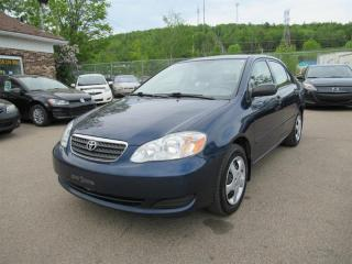 Used 2007 Toyota Corolla CE for sale in Québec, QC