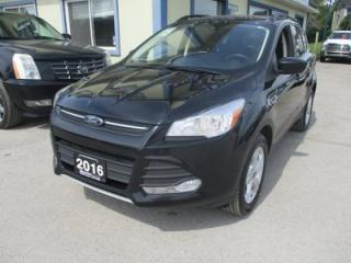 Used 2016 Ford Escape FOUR-WHEEL DRIVE SE EDITION 5 PASSENGER 1.6L - ECO-BOOST.. LEATHER.. HEATED SEATS.. SYNC TECHNOLOGY.. BACK-UP CAMERA.. BLUETOOTH.. for sale in Bradford, ON