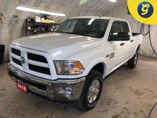 Used 2018 RAM 2500 Outdoorsman * Crew Cab * 4X4 * Hemi * 5 inch touchscreen Handsfree communication with Bluetooth streaming * Park Sense Rear Park Assist System * Park for sale in Cambridge, ON