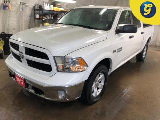 Used 2017 Dodge Ram 1500 Outdoorsman * Crew Cab * 4X4 * Engine oil heat exchanger Heavy duty transmission oil cooler Heavy duty engine cooling ParkView Rear Back Up Camera Tra for sale in Cambridge, ON