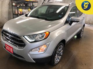 Used 2018 Ford EcoSport Titanium * 4WD * Navigation * Leather Interior * Power sun Roof * and Cross Traffic Alert Back-Up Camera BLIS Blind Spot Sensor Rear Parking Sensors * for sale in Cambridge, ON