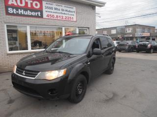 Used 2008 Mitsubishi Outlander Ls Awd 7 Passagers for sale in St-Hubert, QC