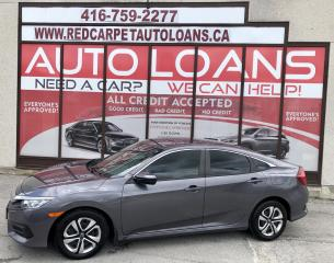 Used 2017 Honda Civic LX-ALL CREDIT ACCEPTED for sale in Scarborough, ON