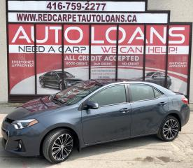 Used 2016 Toyota Corolla S-ALL CREDIT ACCEPTED for sale in Scarborough, ON