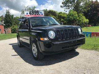 Used 2008 Jeep Patriot SPORT for sale in Oro Medonte, ON