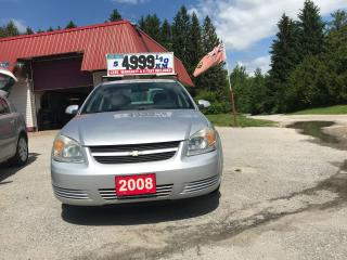 Used 2008 Chevrolet Cobalt for sale in Oro Medonte, ON