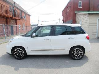 Used 2014 Fiat 500 L Lounge LOADED!! CERTIFIED!! NAVI, PANO ROOF, LEATHER, REVERSE CAM for sale in Oshawa, ON