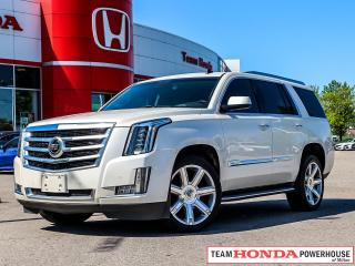 Used 2015 Cadillac Escalade Premium-*NO ACCIDENTS|1 OWNER|NAVI|DVD|LEATHER* for sale in Milton, ON
