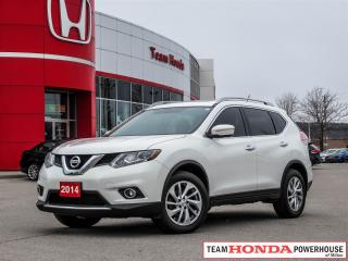 Used 2014 Nissan Rogue SL-*NO ACCIDENTS|NAVI|TINT|LEATHER* for sale in Milton, ON