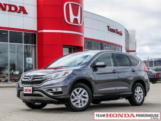 Used 2016 Honda CR-V SE-*1 OWNER|PUSH TO START|BACKUP CAMERA* for sale in Milton, ON
