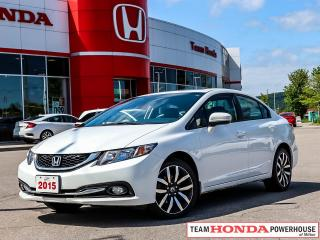 Used 2015 Honda Civic Touring-*1 OWNER|NAVI|LEATHER* for sale in Milton, ON