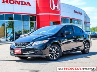 Used 2015 Honda Civic EX-*NO ACCIDENTS|1 OWNER|SUNROOF|BLINDSPOT CAMERA* for sale in Milton, ON