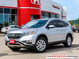 Used 2016 Honda CR-V EX-*NO ACCIDENTS|1 OWNER|SUNROOF|BLINDSPOT CAMERA* for sale in Milton, ON