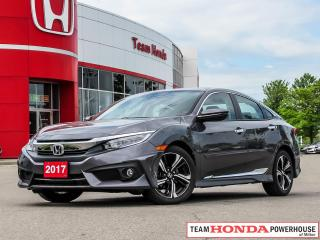 Used 2017 Honda Civic Touring-*NO ACCIDENTS|1 OWNER|NAVI|LEATHER* for sale in Milton, ON