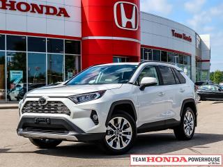 Used 2019 Toyota RAV4 Limited-*NO ACCIDENTS|1 OWNER|NAIV|SUNROOF|LEATHER* for sale in Milton, ON