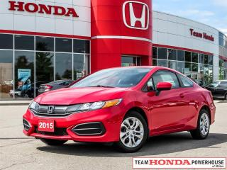 Used 2015 Honda Civic LX-*NO ACCIDENTS|1 OWNER|BACKUP CAMERA|HEATED SEATS* for sale in Milton, ON