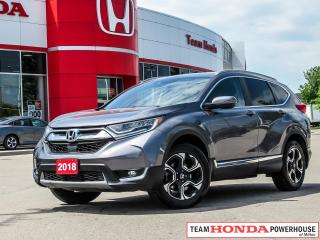 Used 2018 Honda CR-V Touring-*1 OWNER|NAVI|LEATHER|BSM|HEATED STEERING WHEEL* for sale in Milton, ON