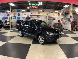 Used 2015 Volkswagen Tiguan 2.0TSI HIGHLINE AWD P/START LEATHER PANO/ROOF 83K for sale in North York, ON