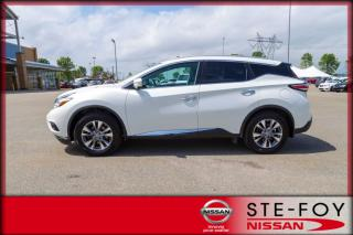 Used 2015 Nissan Murano SL * Cuir * Toit panoramique * Gps * for sale in Ste-Foy, QC