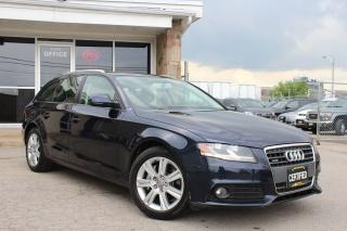Used 2009 Audi A4 Wagon Leather|Pano Roof|Bluetooth for sale in Mississauga, ON